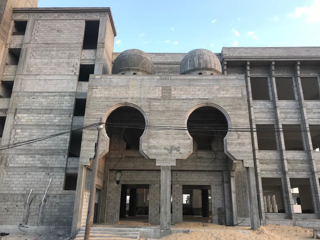 Pembangunan Masjid Istiqlal Indonesia, Gaza Palestina